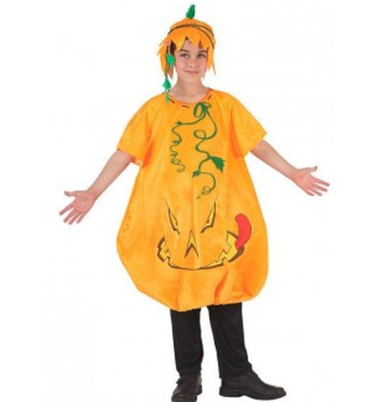 Costume de citrouille d\'Halloween